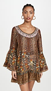 Camilla Платье трапециевидной формы с оборками