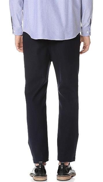 CAMO Eclypse Elastic Waist Wool Trousers