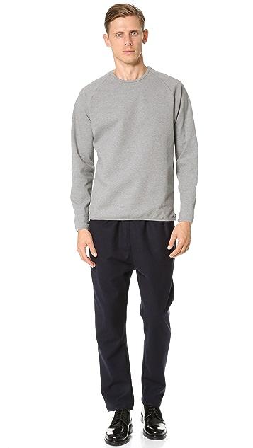 CAMO Pedaso Raglan Side Zip Sweatshirt