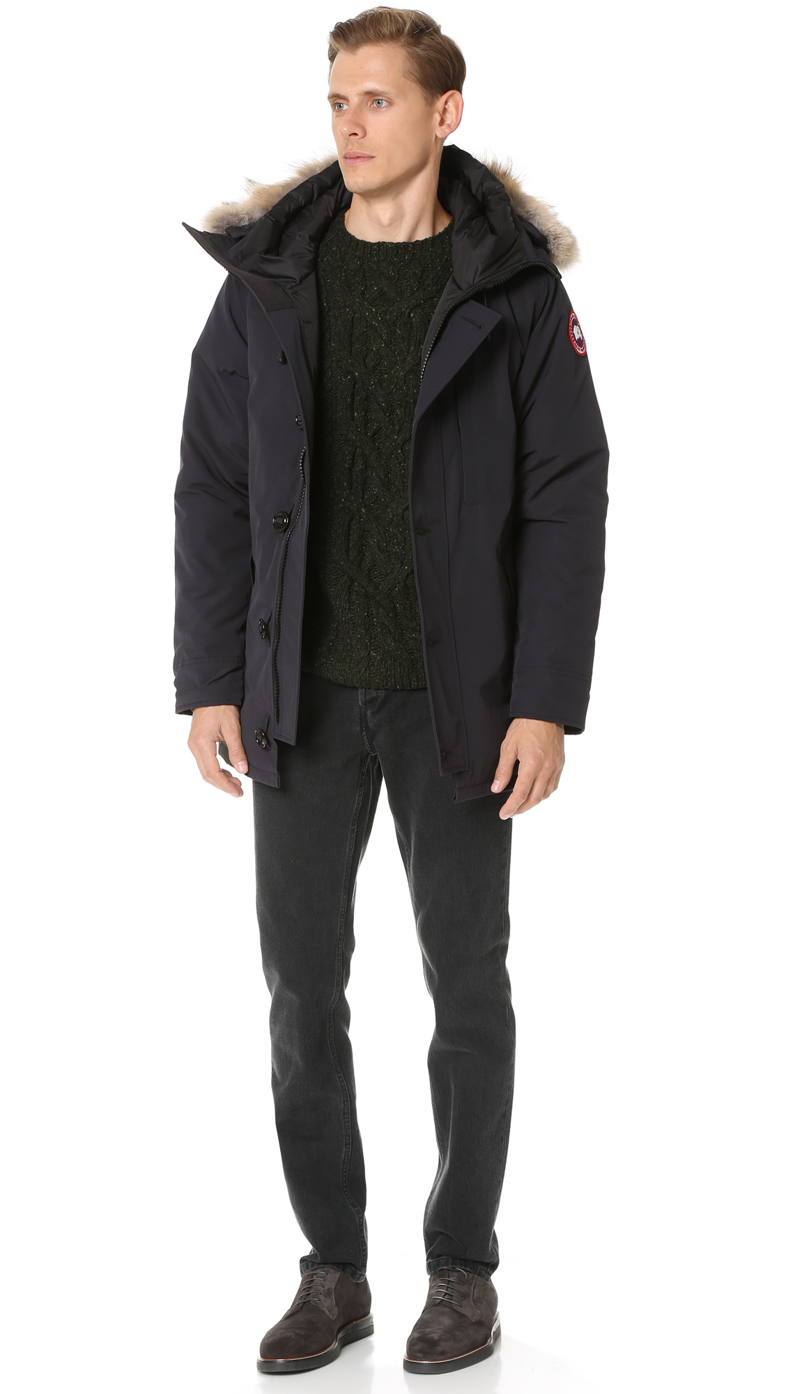 Canada Goose Chateau Parka with Fur | EAST DANE | Use Code: STOCKUP18 for Up to 25% Off