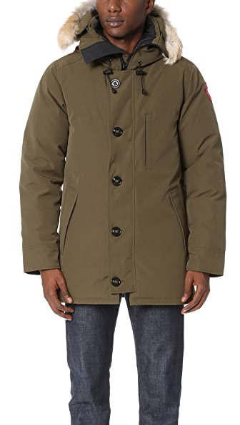 Canada Goose Chateau Parka With Fur - Military Green