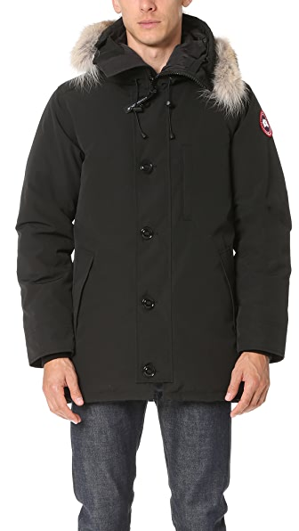 Canada Goose Chateau Parka With Fur - Black
