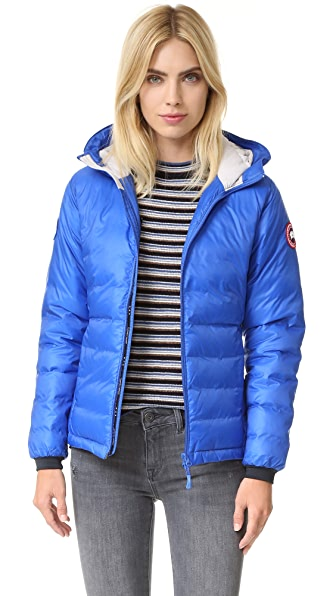 Canada Goose Pbi Camp Hooded Jacket - Royal Pbi Blue