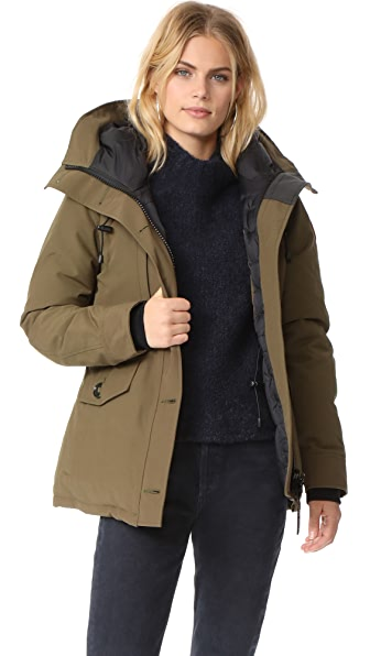 Canada Goose Rideau Parka In Military Green