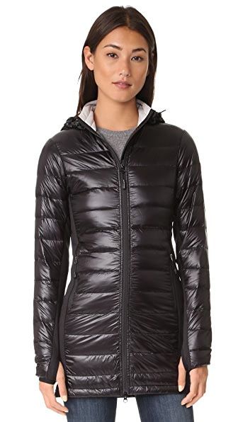 Canada Goose Hybridge Lite Long Coat - Black