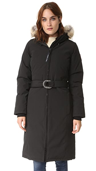 Canada Goose Whistler Parka In Black