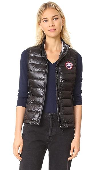 Canada Goose Hybridge Lite Vest In Black
