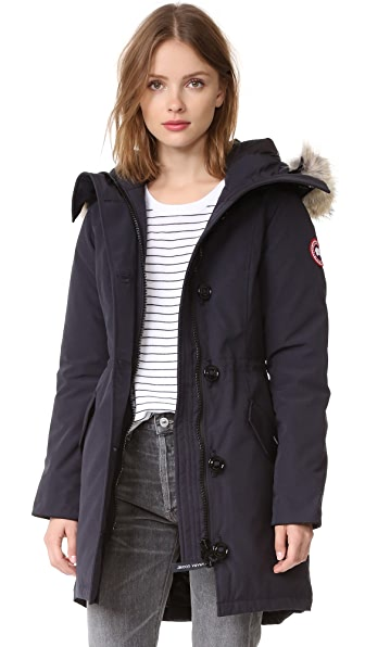 Canada Goose Rossclair Parka - Navy