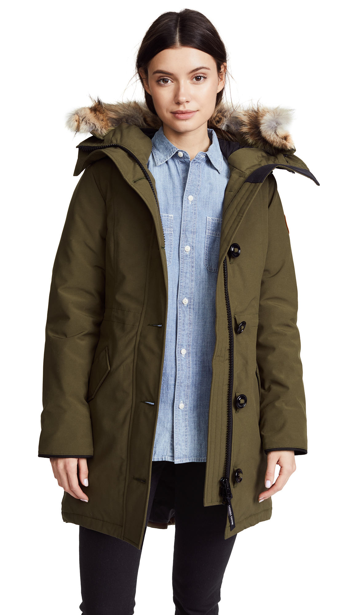 Canada Goose Rossclair Parka - Military Green