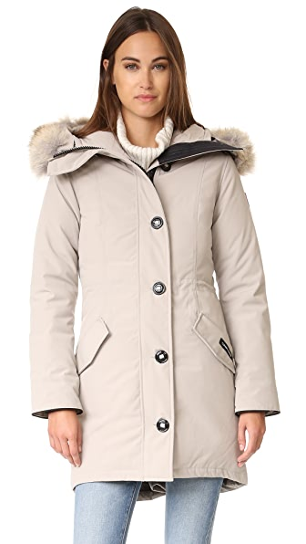 Canada Goose Rossclair Parka - Limestone