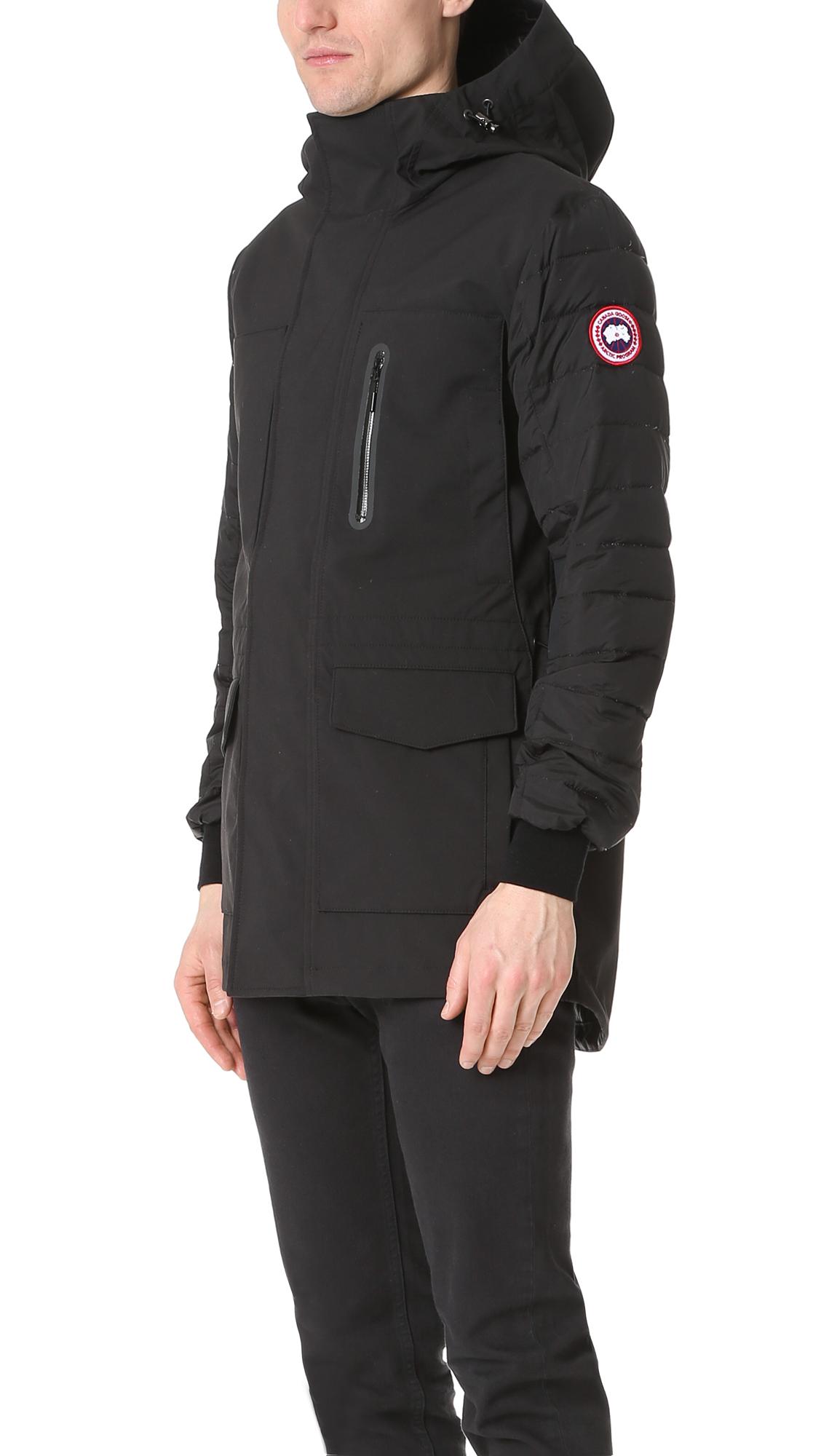 canada goose jacket temperature rating
