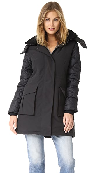 Canada Goose Elwin Parka In Black