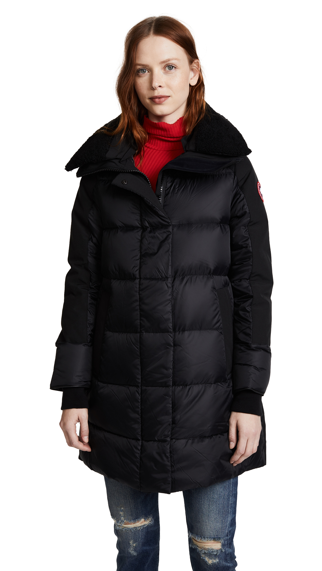 Canada Goose Altona Parka In Black