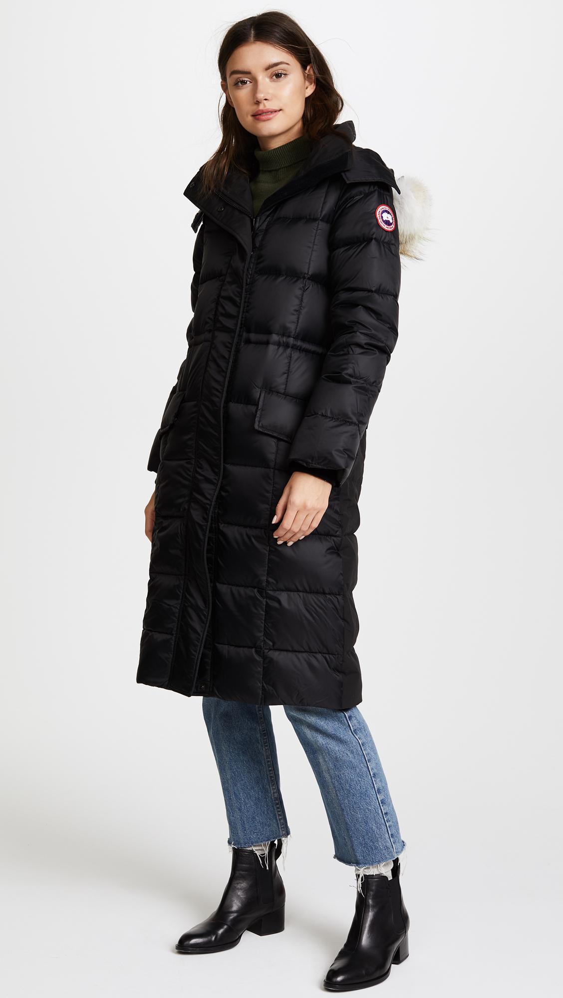 Damen Lunenburg Parka Black Label   Canada Goose® Österreich