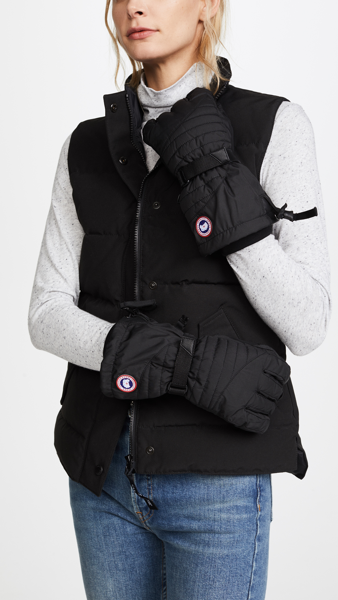 canada goose arctic down mitt