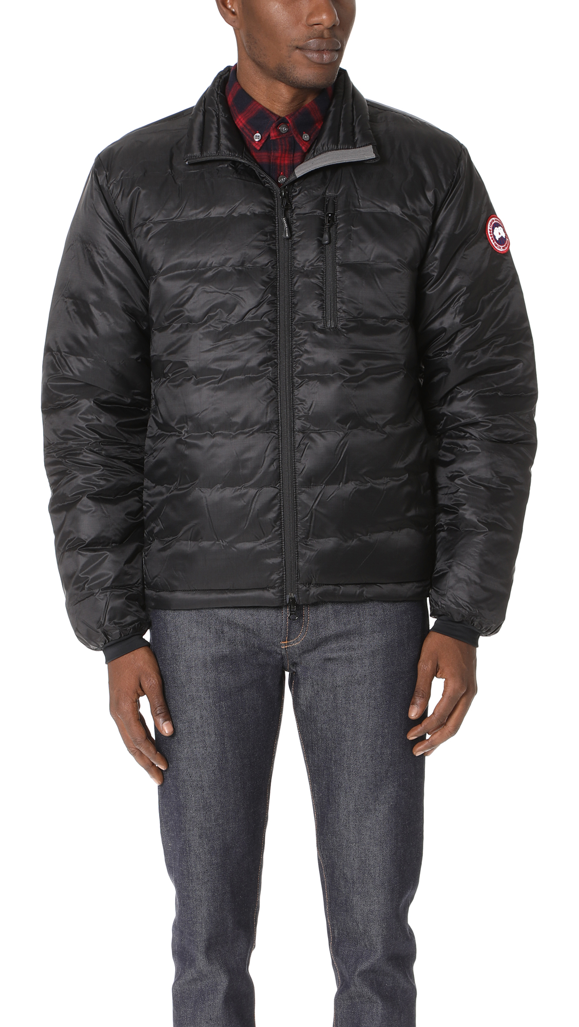 Canada Goose Lodge Packable Quilted Nylon Ripstop Down