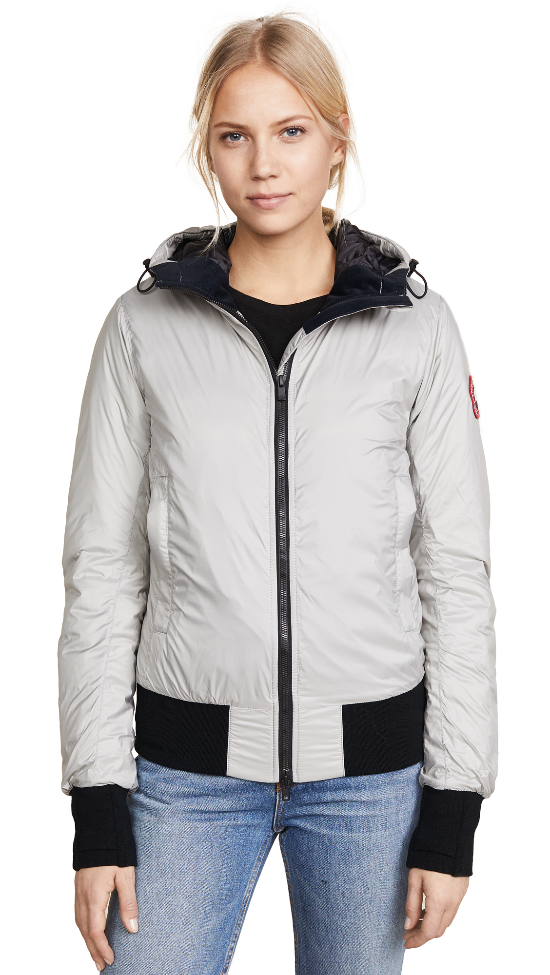 CANADA GOOSE DORE HOODED JACKET, PERMAFROST