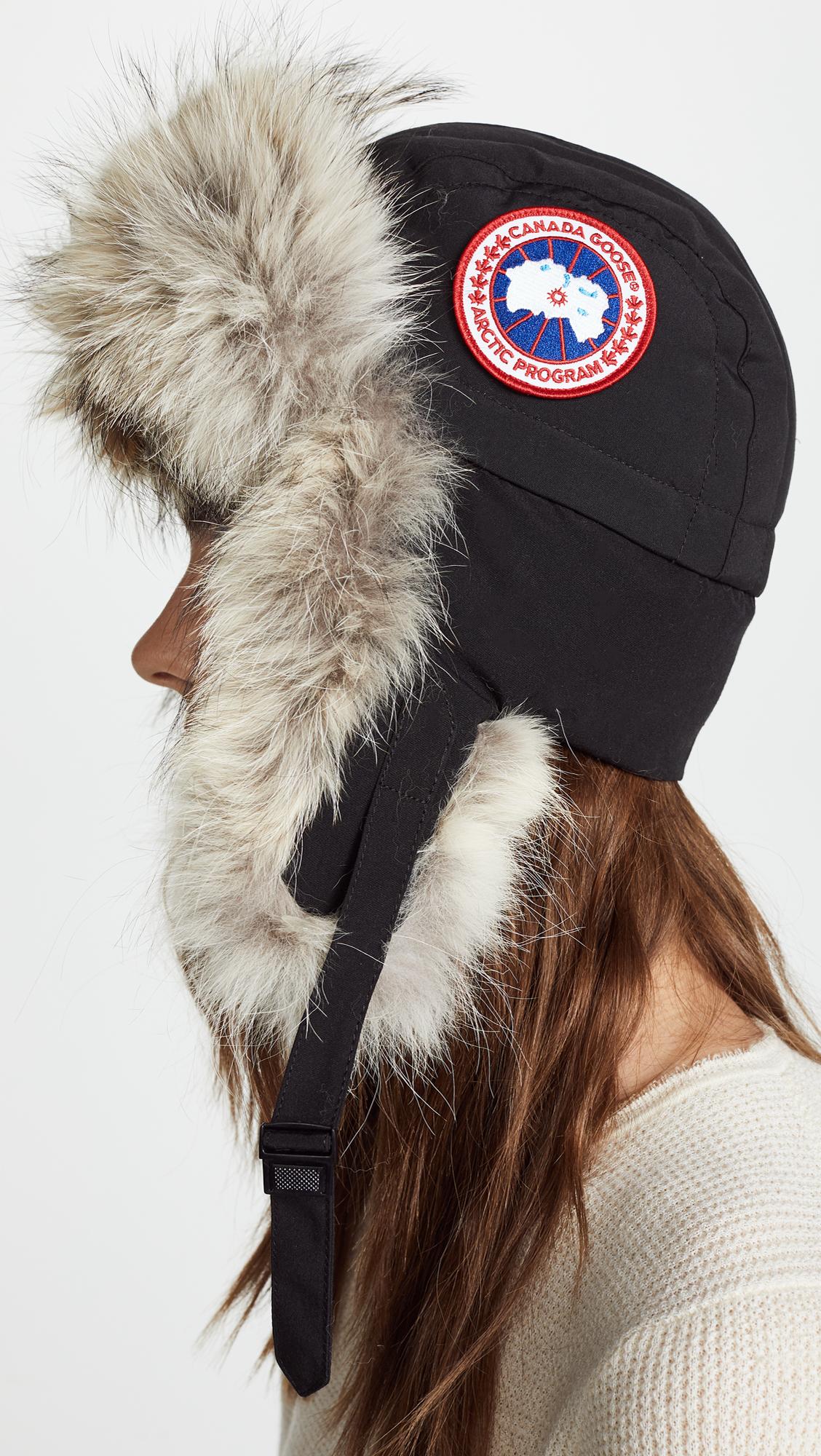 Canada Goose Aviator Hat  8066c8f0526