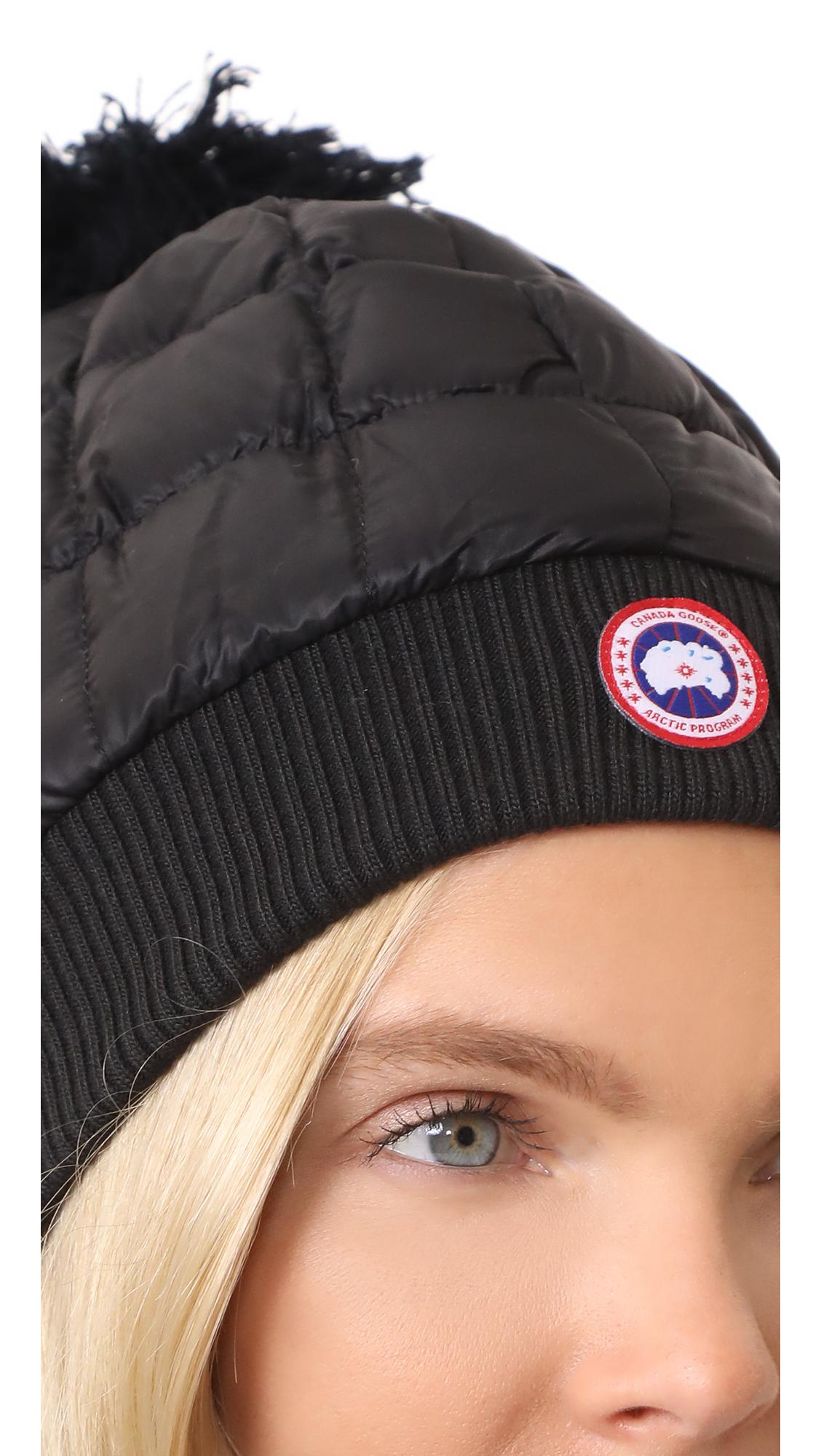 9f709ad67c9 Canada Goose Down Pom Toque Hat