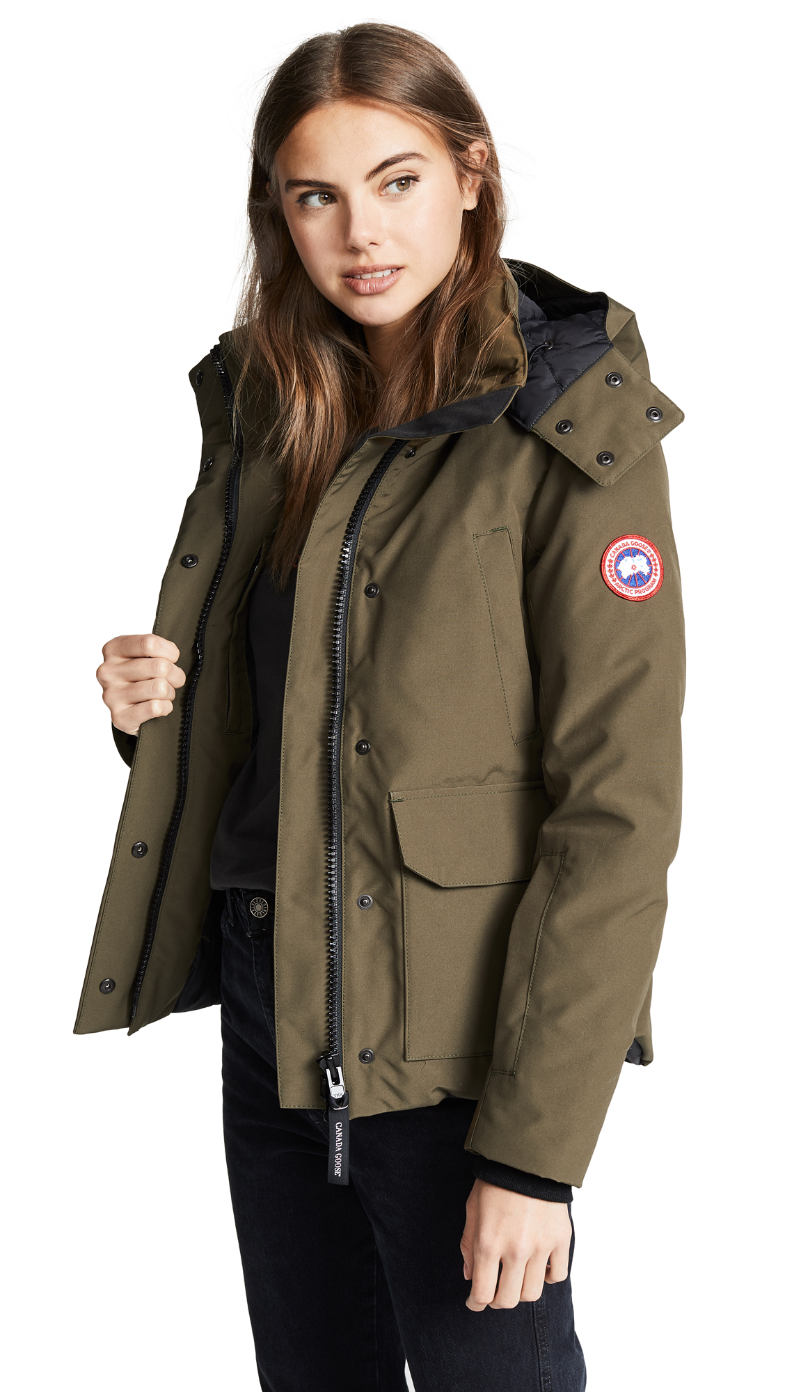 Canada Goose Blakely Parka - Military Green