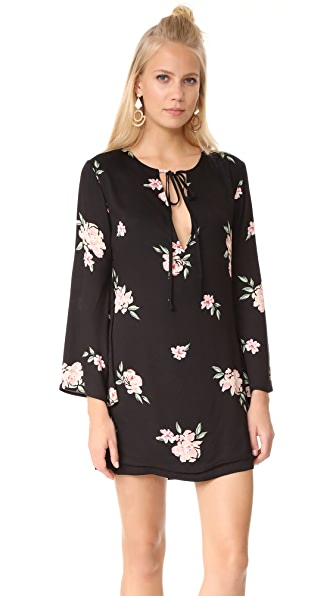Capulet Charlotte Bell Sleeve Shift Dress