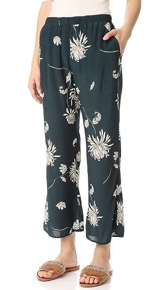 Capulet Zsa Zsa Trousers - Chrysanthemum Print