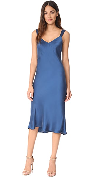 Capulet Ally Dress In Prussian Blue
