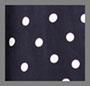 Navy Polka Dot