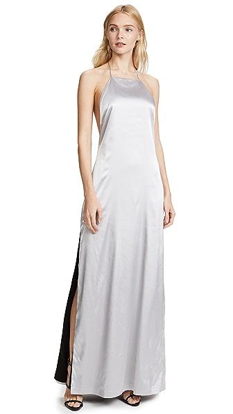 Capulet Regina Dress In Silver