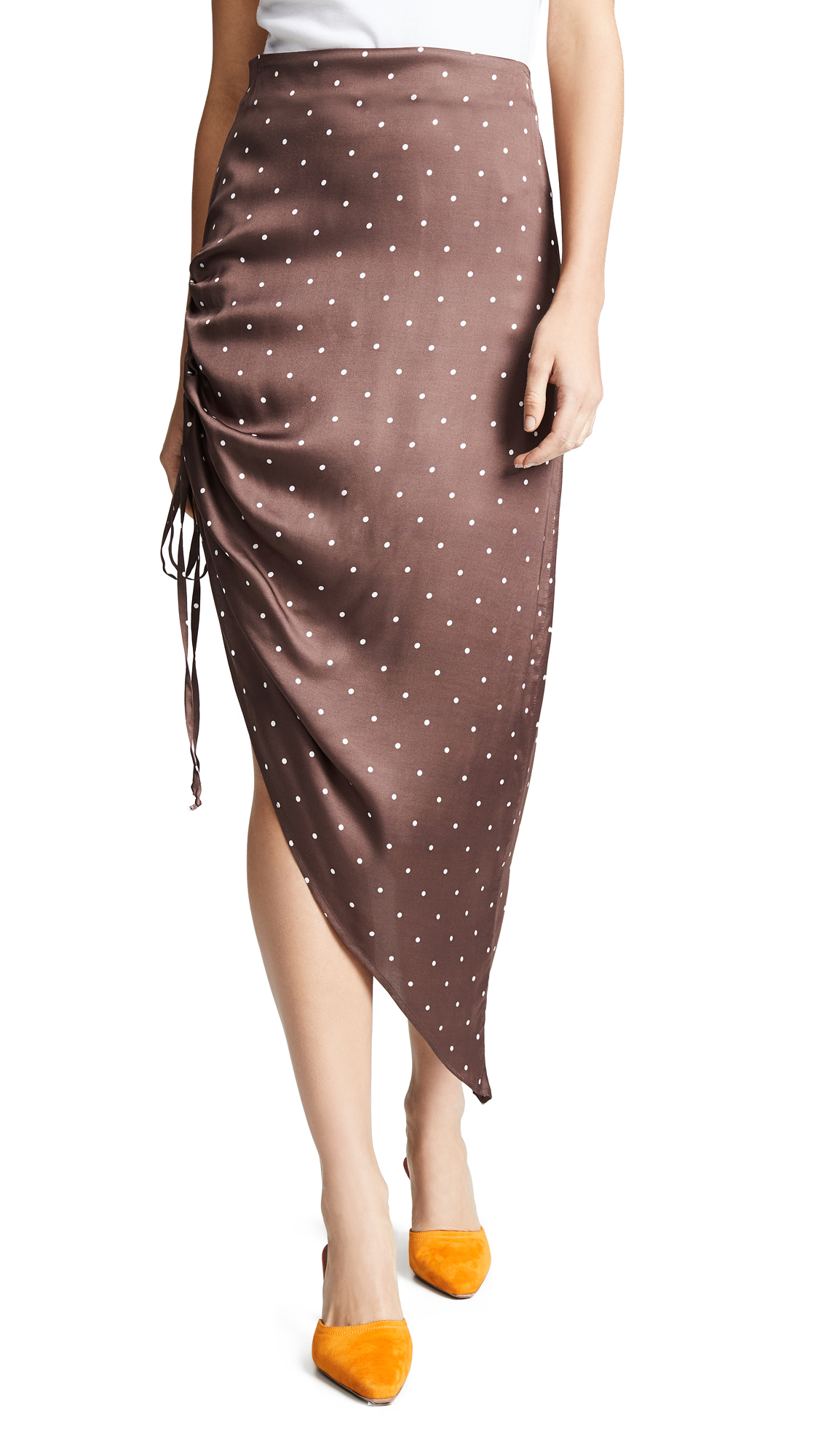 CAPULET Dakota Midi Skirt in Polka Dot