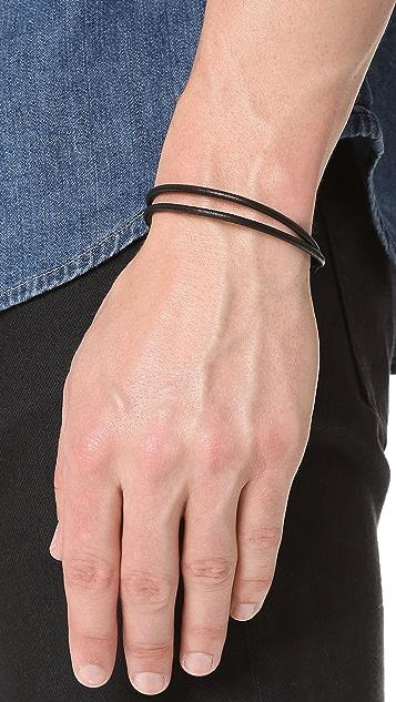Caputo & Co. Craftsman Leather Bracelet