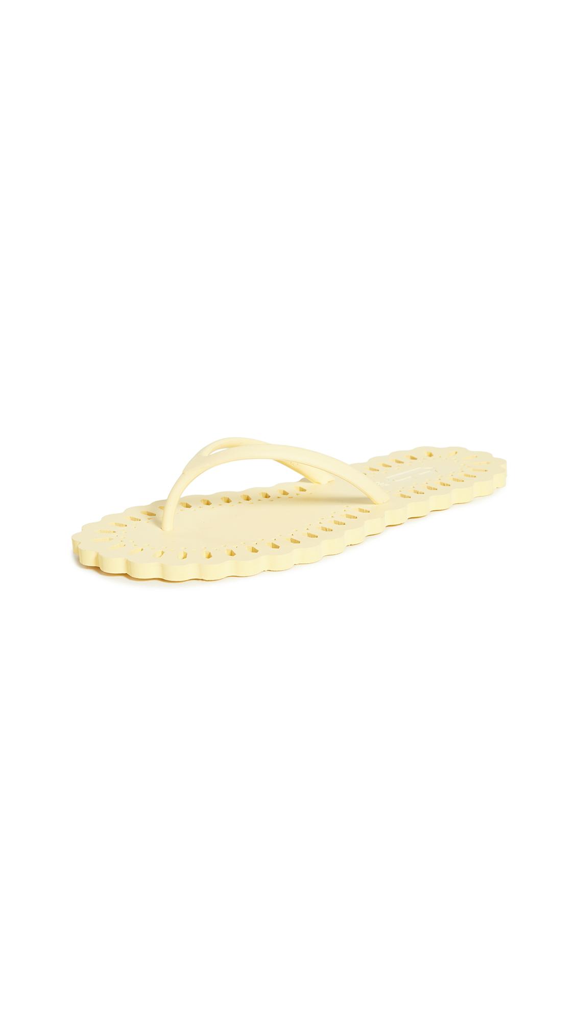 Buy Carlotha Ray Laser Cut Flip Flops online, shop Carlotha Ray