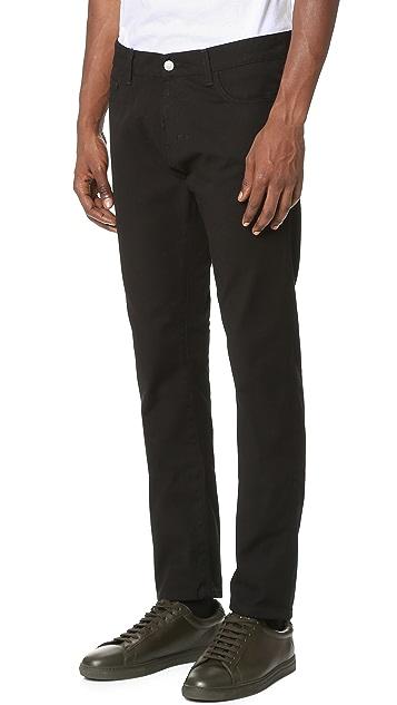 Carhartt WIP Rebel Slim Taper Canvas Jeans