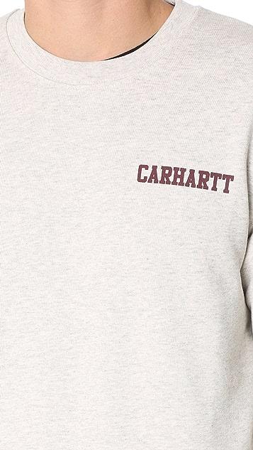 Carhartt WIP College Script Sweatshirt