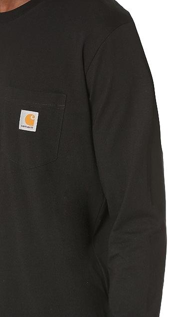 Carhartt WIP Long Sleeve Pocket Tee