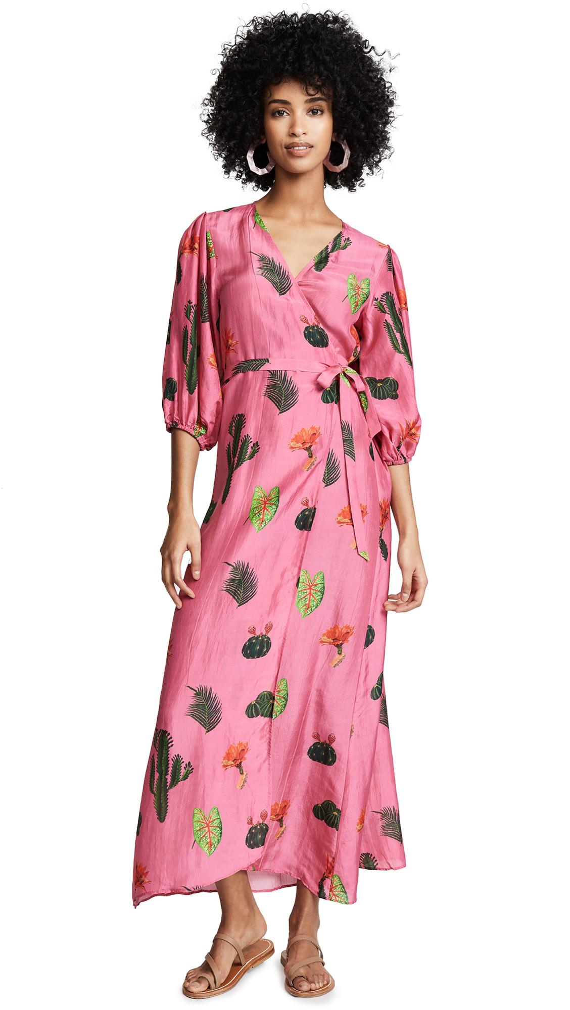 CAROLINA K Donna Dress in Cactus Pink