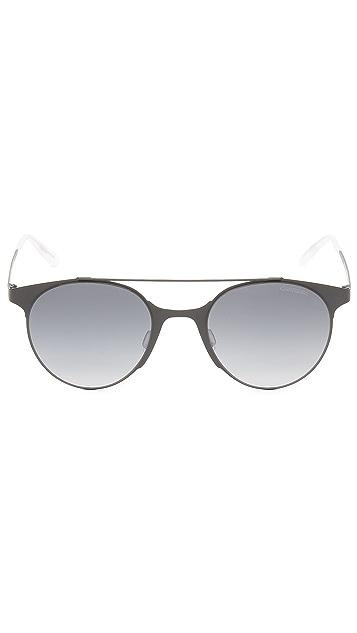 Carrera Lightweight Round Sunglasses