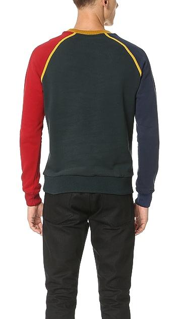 Carven Colorblock Logo Sweatshirt