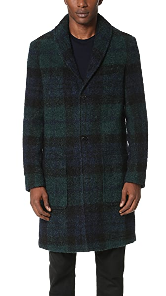 Carven Blackwatch Overcoat