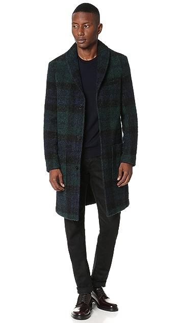 Carven Blackwatch Overcoat