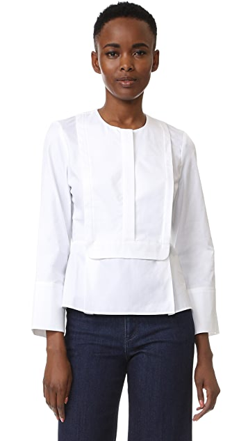 Carven Long Sleeve Blouse