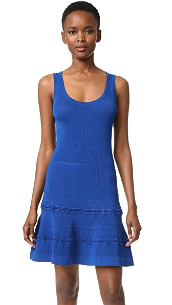 Carven Knit Dress - Blue