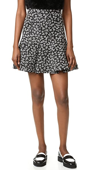 Carven Skirt - Black/White