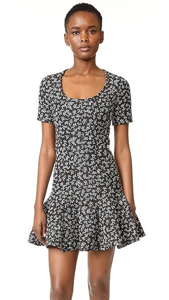 Carven Dress - Black/White