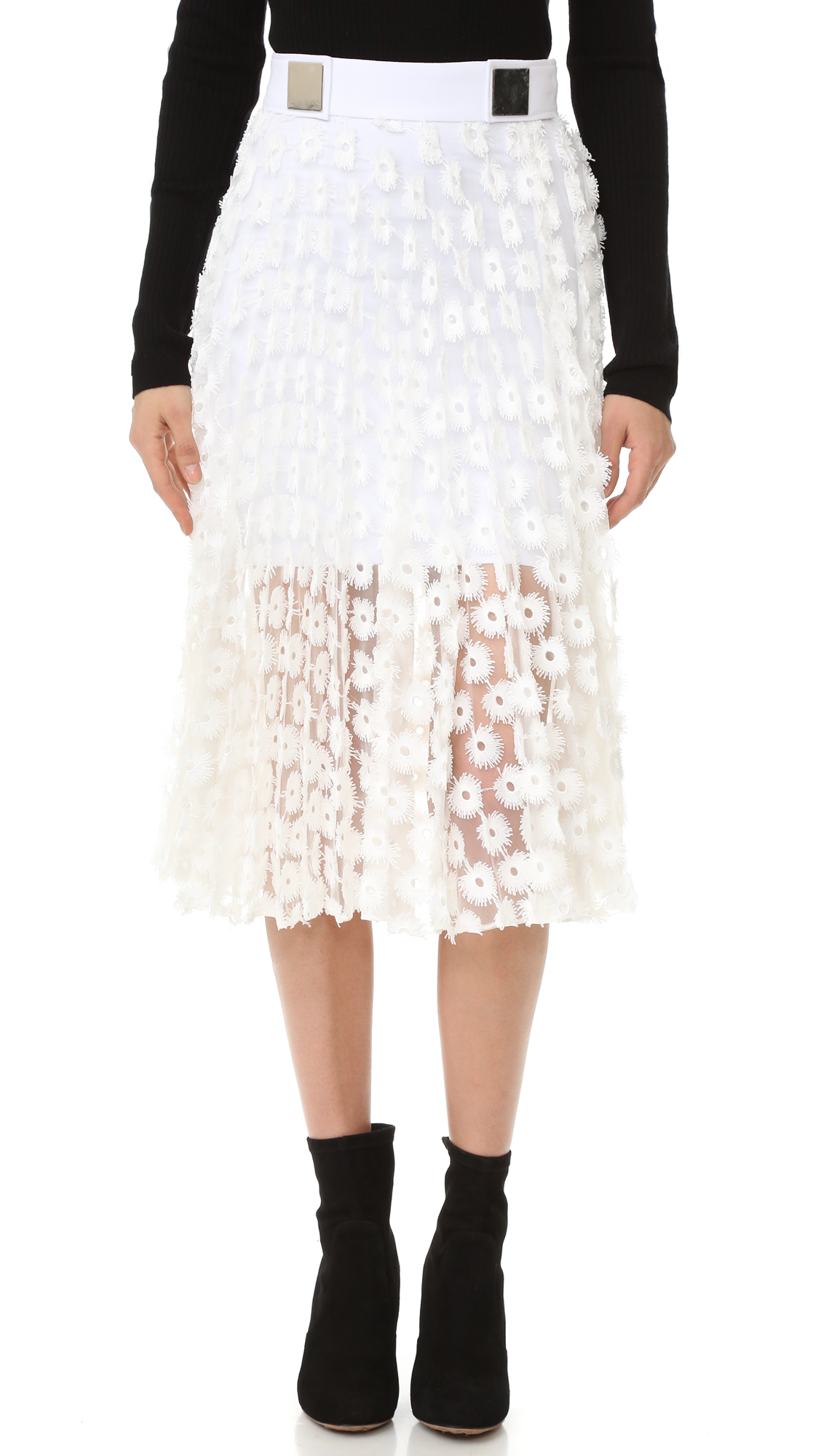 Carven Skirt - White