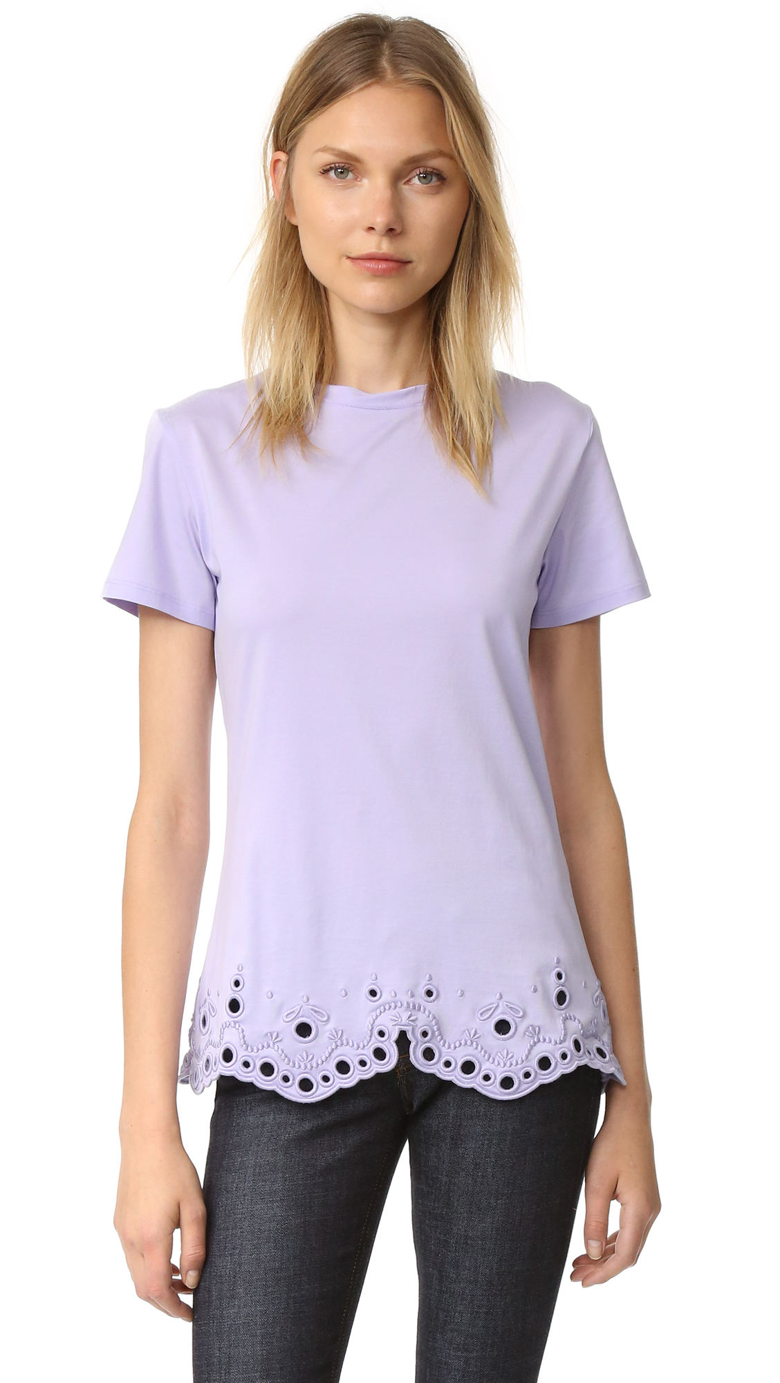 Carven T-Shirt - Lilas