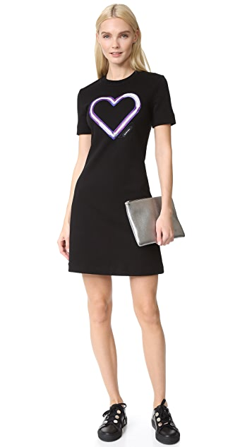 Carven Sweatshirt Dress