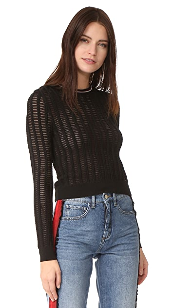 Carven Long Sleeve Sweater