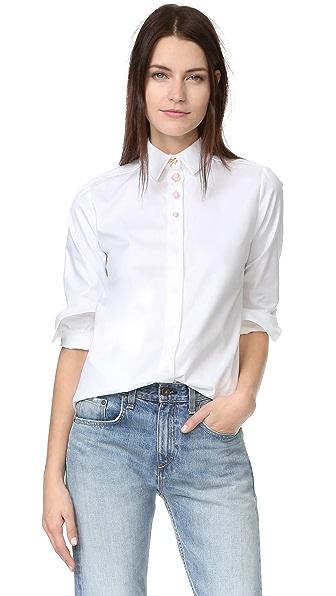 Carven Блуза с длинными рукавами