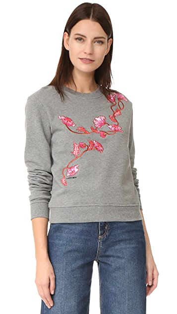 Carven Embroidered Sweatshirt